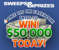 Win $50,000 Today with Sweeps&Prizes and tons of other daily prizes!